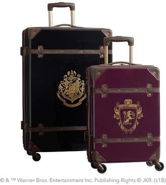 Pottery Barn Teen HARRY POTTER & Hard-Sided GRYFFINDOR & Luggage Bundle, Set of 2, Maroon/Black