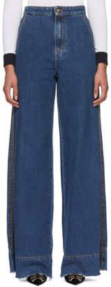 Loewe Blue Flare Jeans