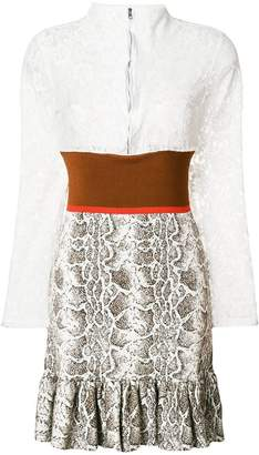 Chloé frill trimmed dress