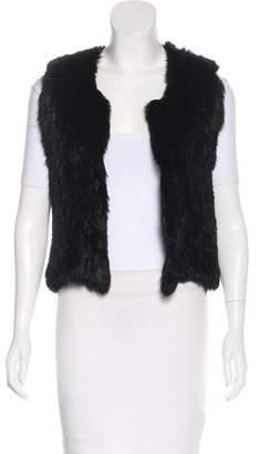 Open-Front Fur Vest