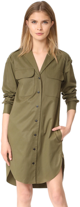 Rag & Bone Mason Shirtdress $395 thestylecure.com