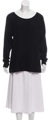 Kimberly Ovitz Distressed Silk-Blend Sweater