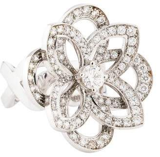 Louis Vuitton 18K Diamond Floral Ring