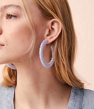 Lou & Grey Machete Grande Flat Hoop Earrings
