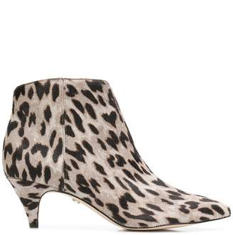 0eb318afeef84d Free Shipping at Farfetch · Sam Edelman animal print ankle boots
