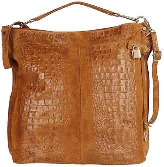 Kaleidoscope Italian Leather Shoulder Bag