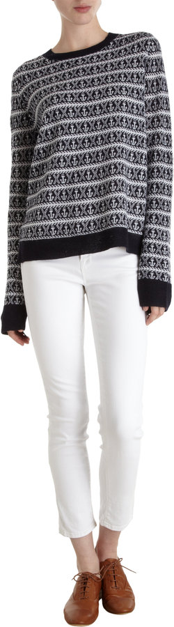 A.L.C. Anchor Knit Sweater