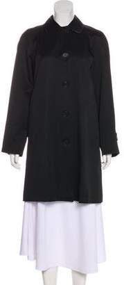 Burberry Knee-Length Collar Coat