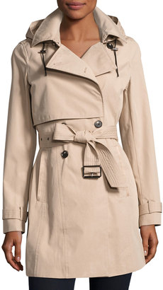 Marc New York by Andrew Marc Taylor Tech-Cotton Trench Coat $190 thestylecure.com