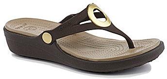 Crocs Sanrah Wedge Sandals
