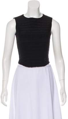 Chanel Quilted Crop Top
