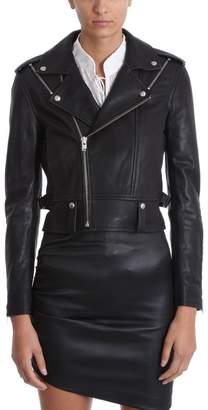 IRO Ozark Black Leather Jacket