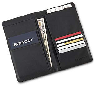 Samsonite Travel Wallet $14 thestylecure.com