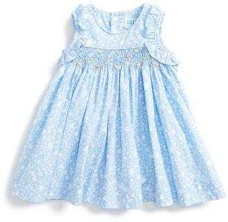 Infant Girl's Luli & Me Smocked Sundress $54 thestylecure.com