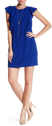 Charles Henry Ruffle Shift Dress $98 thestylecure.com