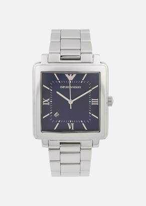 Emporio Armani Analogue Quartz Watch In Stainless Steel