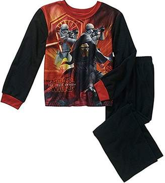 AME Sleepwear STAR WARS Boy's Size KYLO REN Bounty Hunter Flannel Pajama Set
