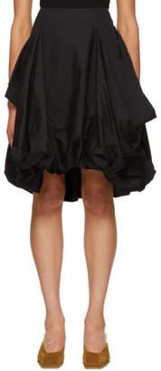 J.W.Anderson Black Draped Pocket Skirt