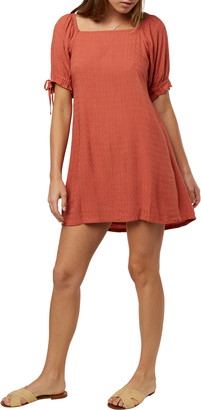 O'Neill Kirsten Smocked Minidress