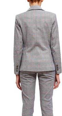 Co Fung Lan And Pattern Blazer