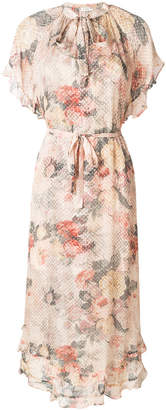 Zimmermann Radiate Cascade floral-print dress