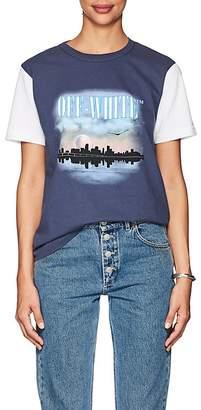 Off-White Women's Graphic-Print Cotton Jersey T-Shirt