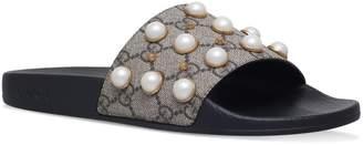 642196a76 Gucci Pearl Sandal - ShopStyle
