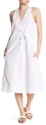 Brochu Walker Foster Surplice Neck Dress