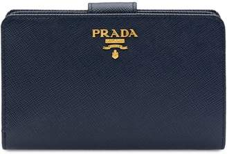 Prada Medium Saffiano Leather Wallet