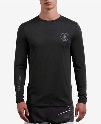 Volcom Men's Lido Logo Long-Sleeve Swim Shirt