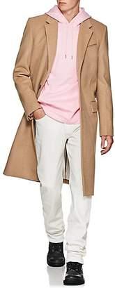 Helmut Lang Men's Harness Wool-Blend Three-Button Topcoat - Beige, Tan