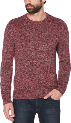 Original Penguin MARLED KNIT SWEATER