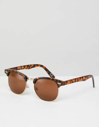 Cat Eye Asos Design ASOS Classic Retro Sunglasses 37478fe118