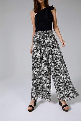 Country Road Shirred Waist Palazzo Pant