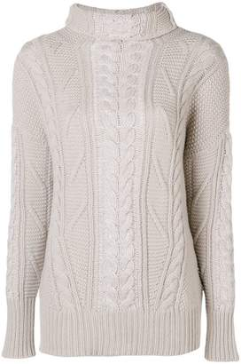 Lorena Antoniazzi pigtail knit sweater