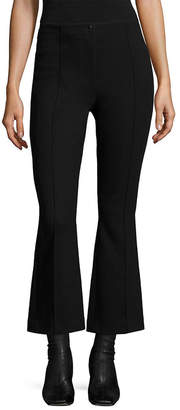 Helmut Lang Cropped Scuba Flared Pant