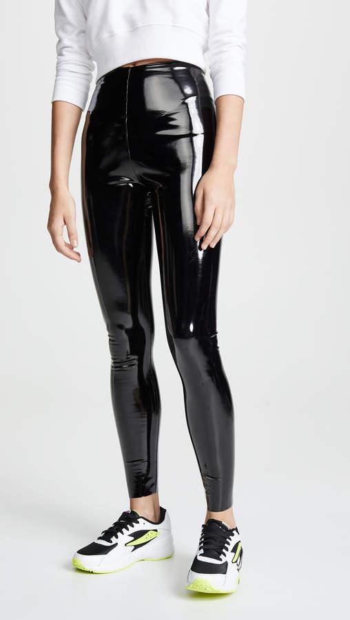 Commando Faux Patent Leather Perfect Control Leggings