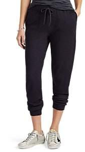 Barneys New York Women's Cotton-Cashmere Drawstring Pants - Navy