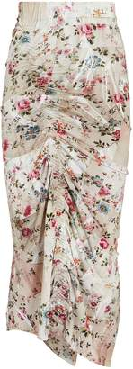 Preen by Thornton Bregazzi Bonnie Ruched Floral Skirt