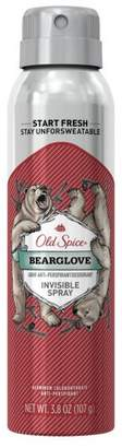 Old Spice Bearglove Invisible Spray Antiperspirant and Deodorant - 3.8oz