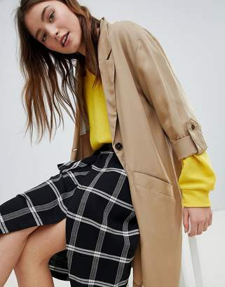 Bershka Waterfall Trench