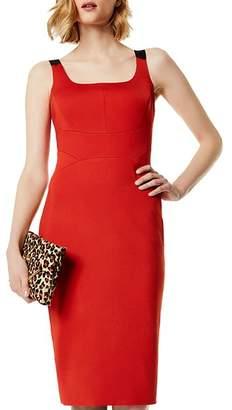 Karen Millen Contrast-Strap Sheath Dress