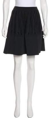 Maison Rabih Kayrouz Fringe-Accented A-Line Skirt