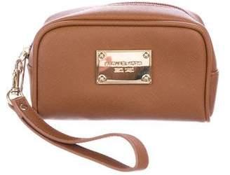 MICHAEL Michael Kors Textured Leather Cosmetic Bag
