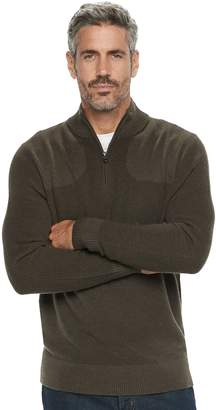 Croft & Barrow Men's Classic-Fit 9GG Quarter-Zip Sweater