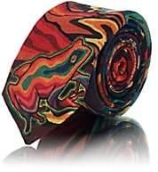 Paul Smith Men's Dreamer Wool & Silk Necktie - Red