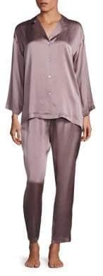 Josie Natori Classic Silk Pajamas