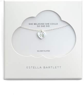 Estella Bartlett Love Letter Heart Necklace