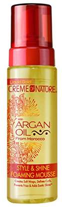 Crème of Nature Argan Oil Style and Shine Foaming Mousse