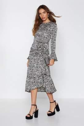 Nasty Gal Let's Get Purr-sonal Leopard Dress